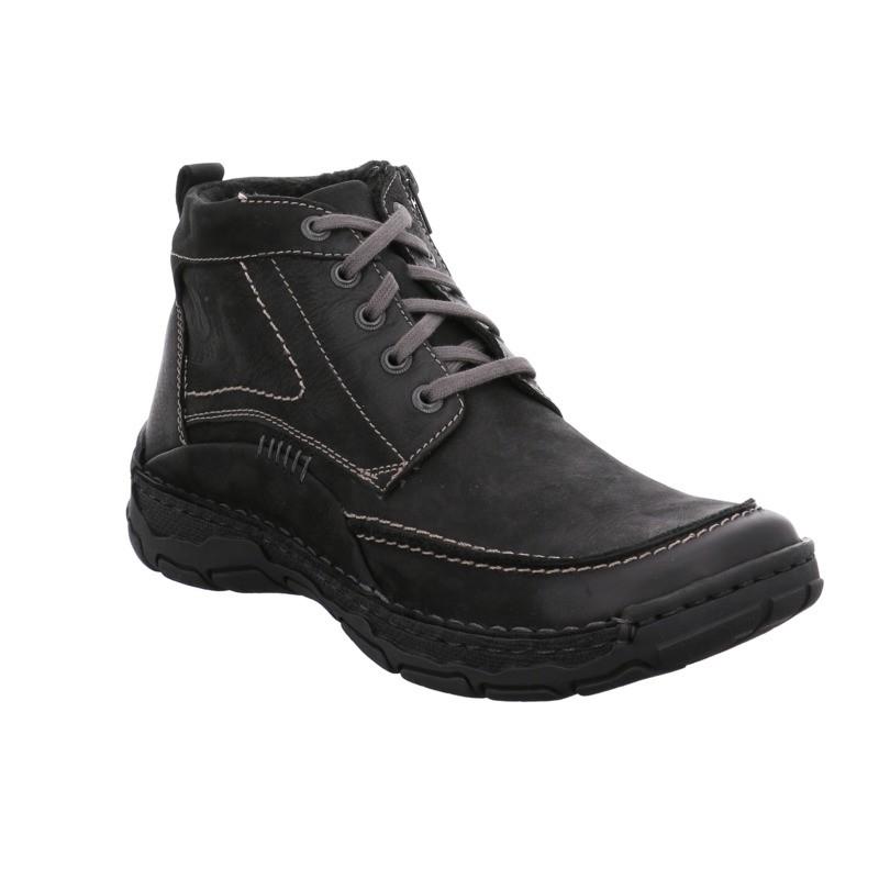 Josef Seibel Dominic 09 fekete bakancs  - Nagy méretű férfi cipők ... 56eabbd4c7