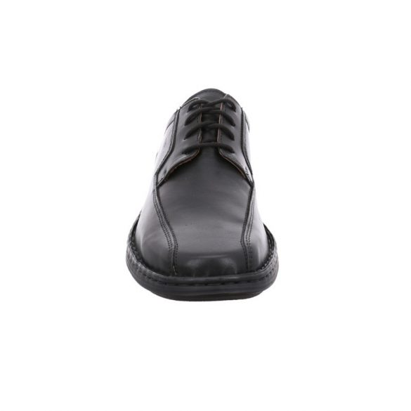 Josef Seibel Burgess fekete bőrcipő