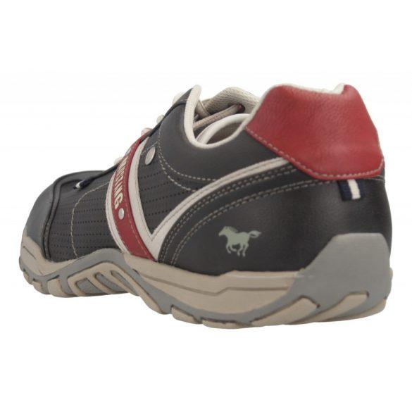 Mustang Black/Red férfi cipő
