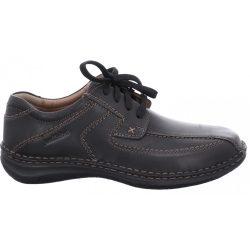 Josef Seibel Alec Milano Black Nagy méretű férfi cipők