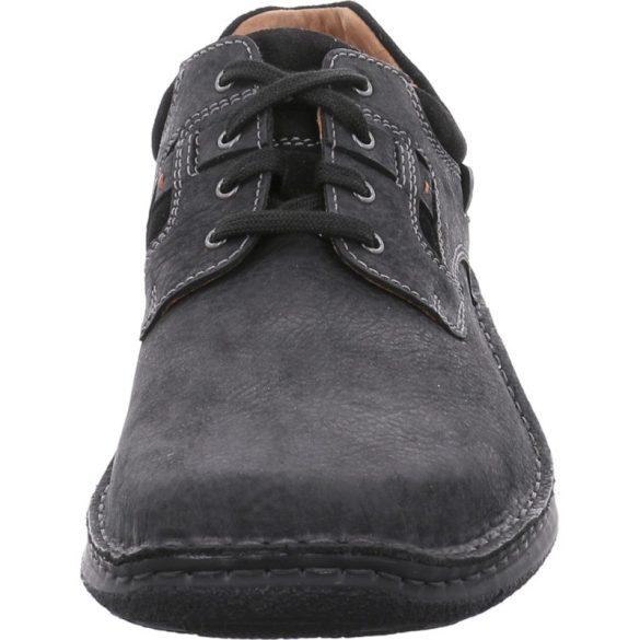 Josef Seibel Anvers 36 Fekete bőrcipő